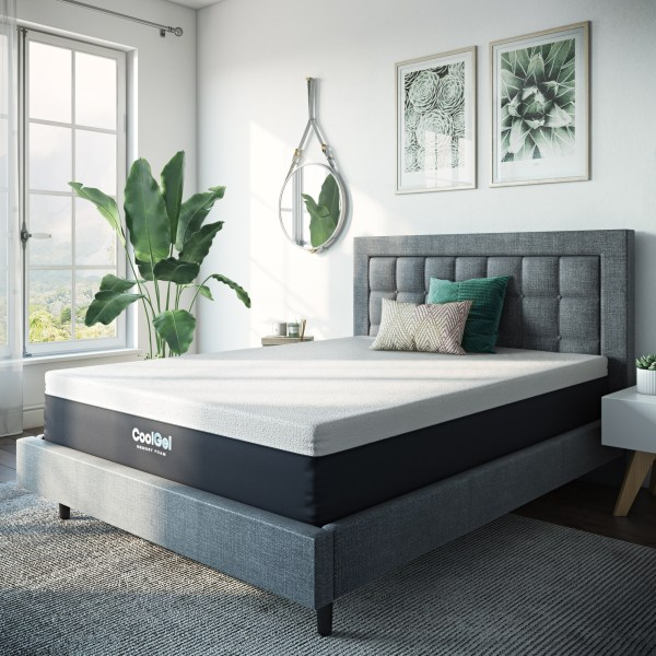 Modern Sleep 12- Cool Gel Memory Foam Medium Plush Mattress Full