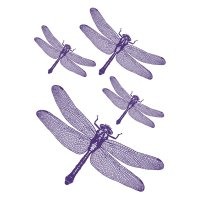 Dragonflies - Komar Freestyle Wall Decal - Walmart.com
