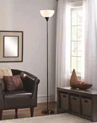 Mainstays Floor Lamp Black Finish - Walmart.com