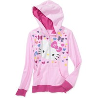 Hello Kitty - Girls' Hoodie - Walmart.com