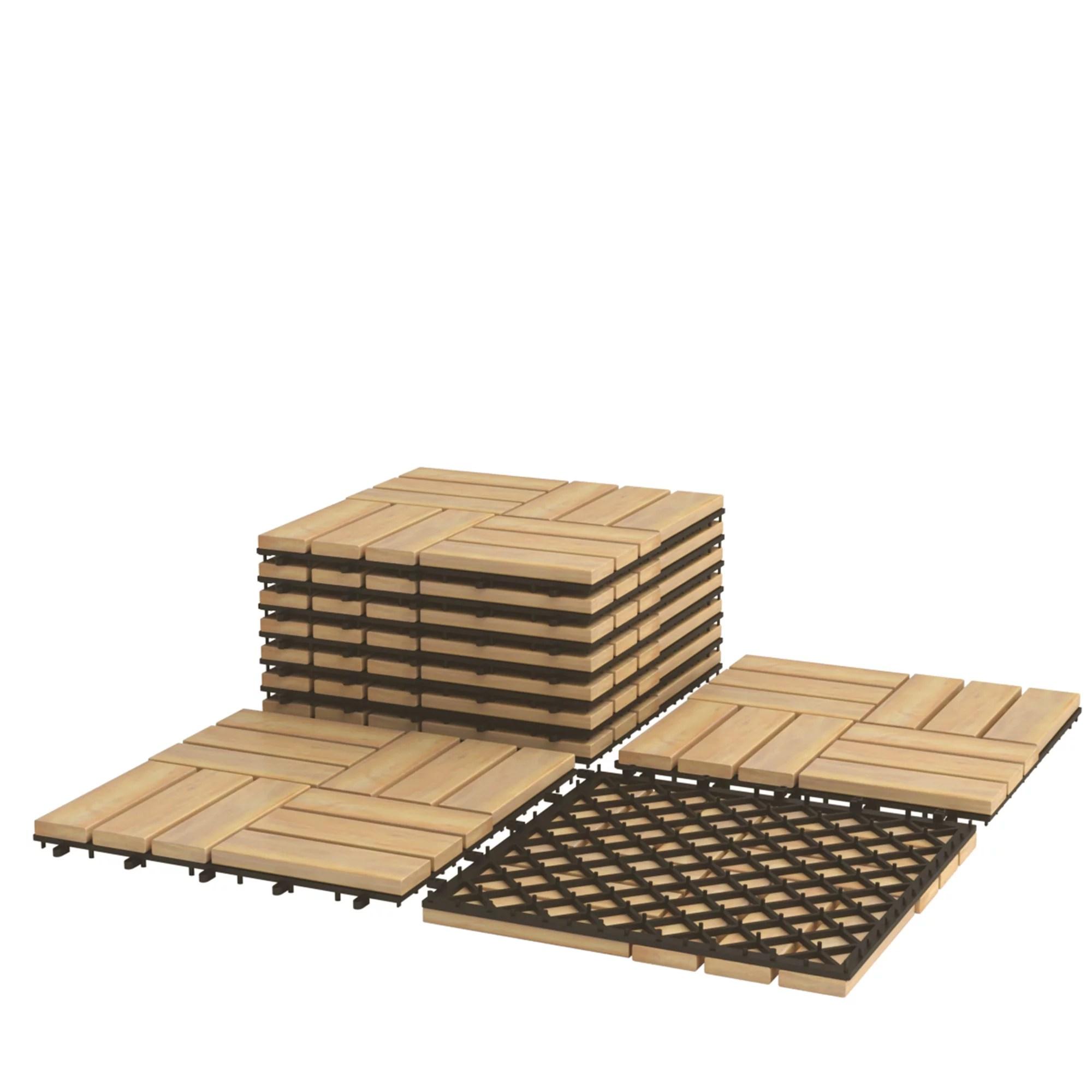 ikea outdoor deck and patio interlocking flooring tiles dark gray