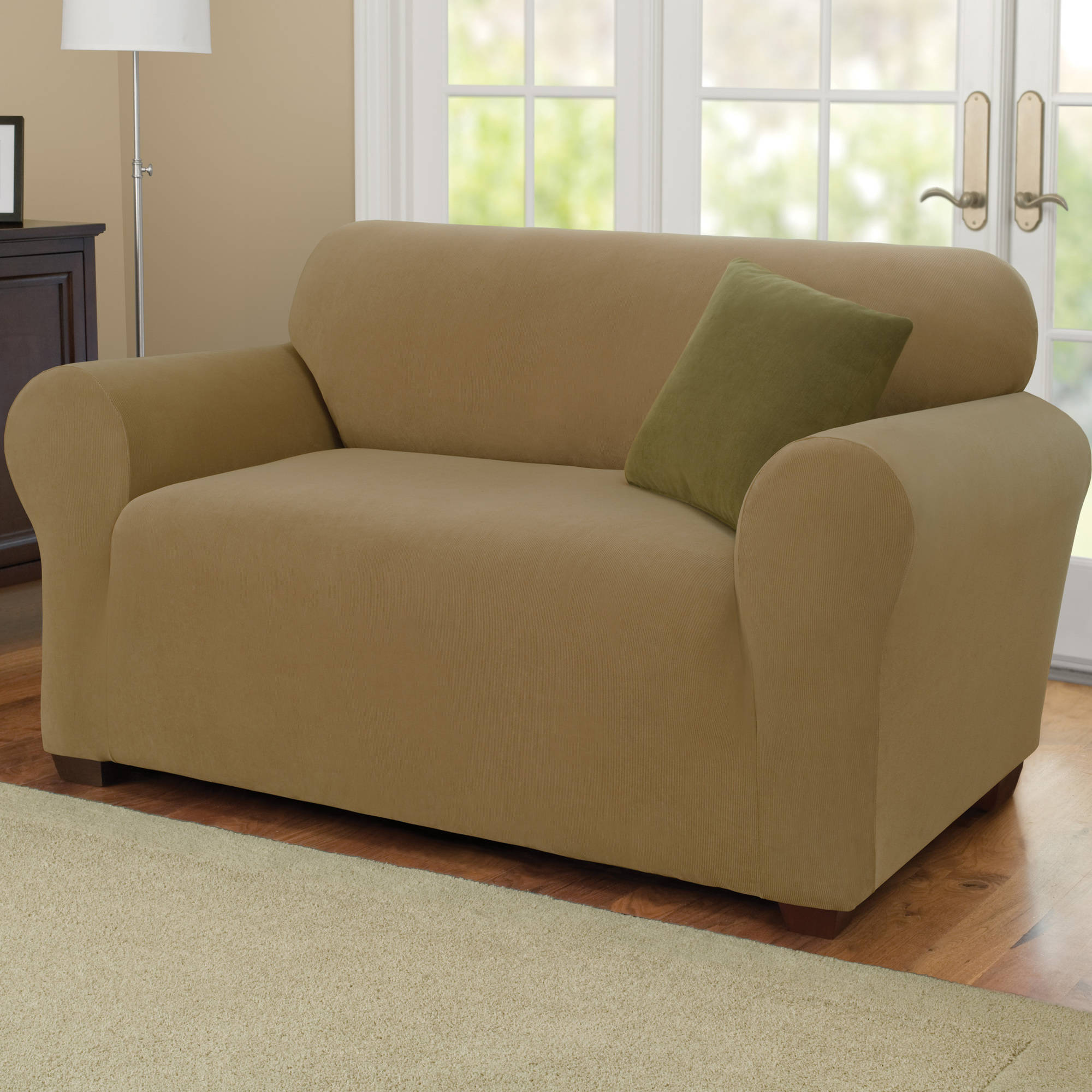 7 piece sofa covers decorating around a dark brown sure fit simple stretch subway 1 recliner slipcover