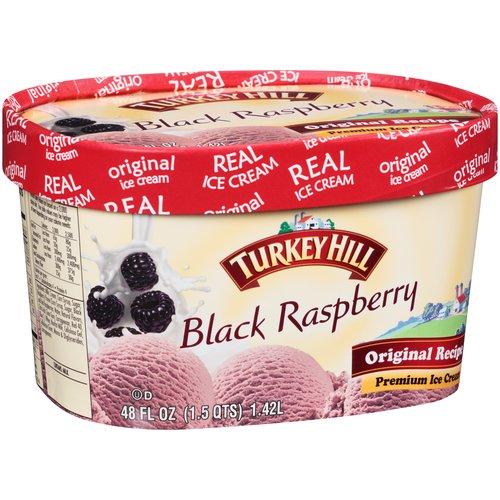 Turkey Hill Black Raspberry Ice Cream 15 quarts