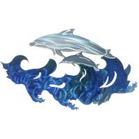 3D Dolphin Metal Wall Art By Next Innovations - Walmart.com