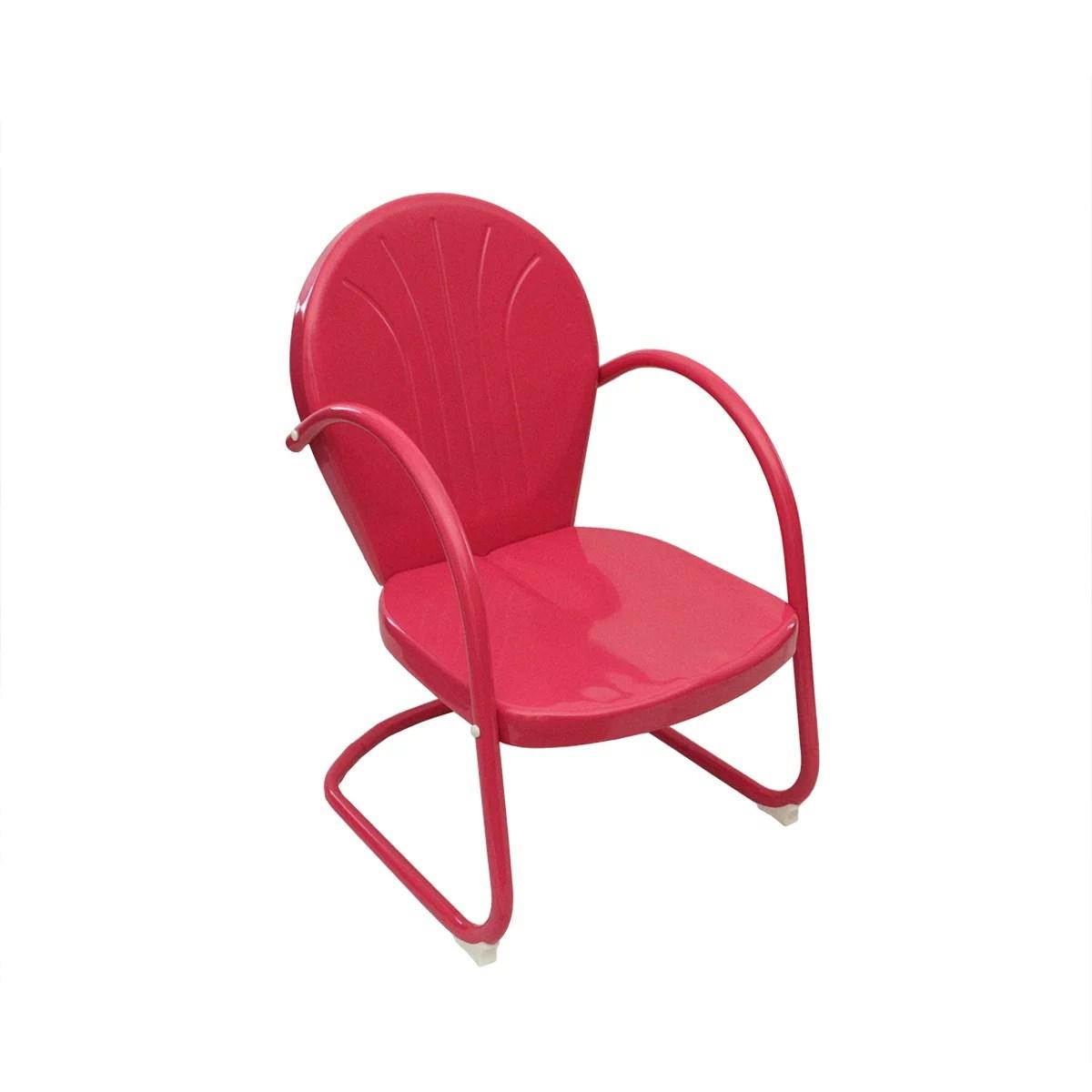 Pink Retro Metal Tulip Chair  Walmartcom