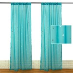 Nk Home Sheer Curtains 40 X 78 Inch W X L Voile Sheer Window Curtains For Bedroom Living Room Curtain Panels Set Of 2 Navy Blue Pink Green White Walmart Com Walmart Com