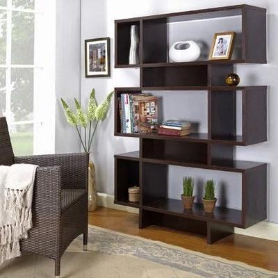 InRoom Designs 63 Bookcase  Walmartcom