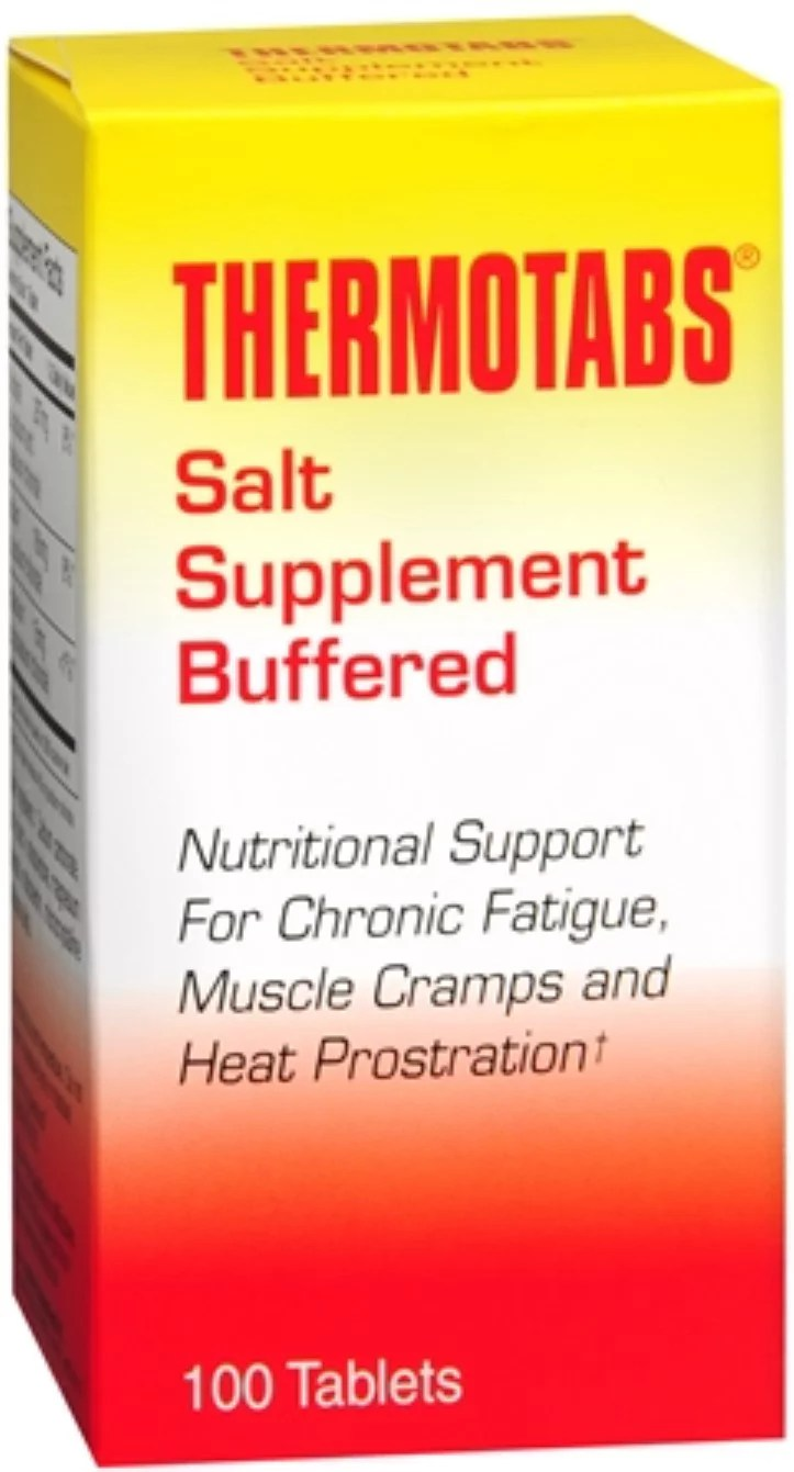 Salt Tablets Walmart : tablets, walmart, THERMOTABS, Supplement, Buffered, Tablets, Walmart.com