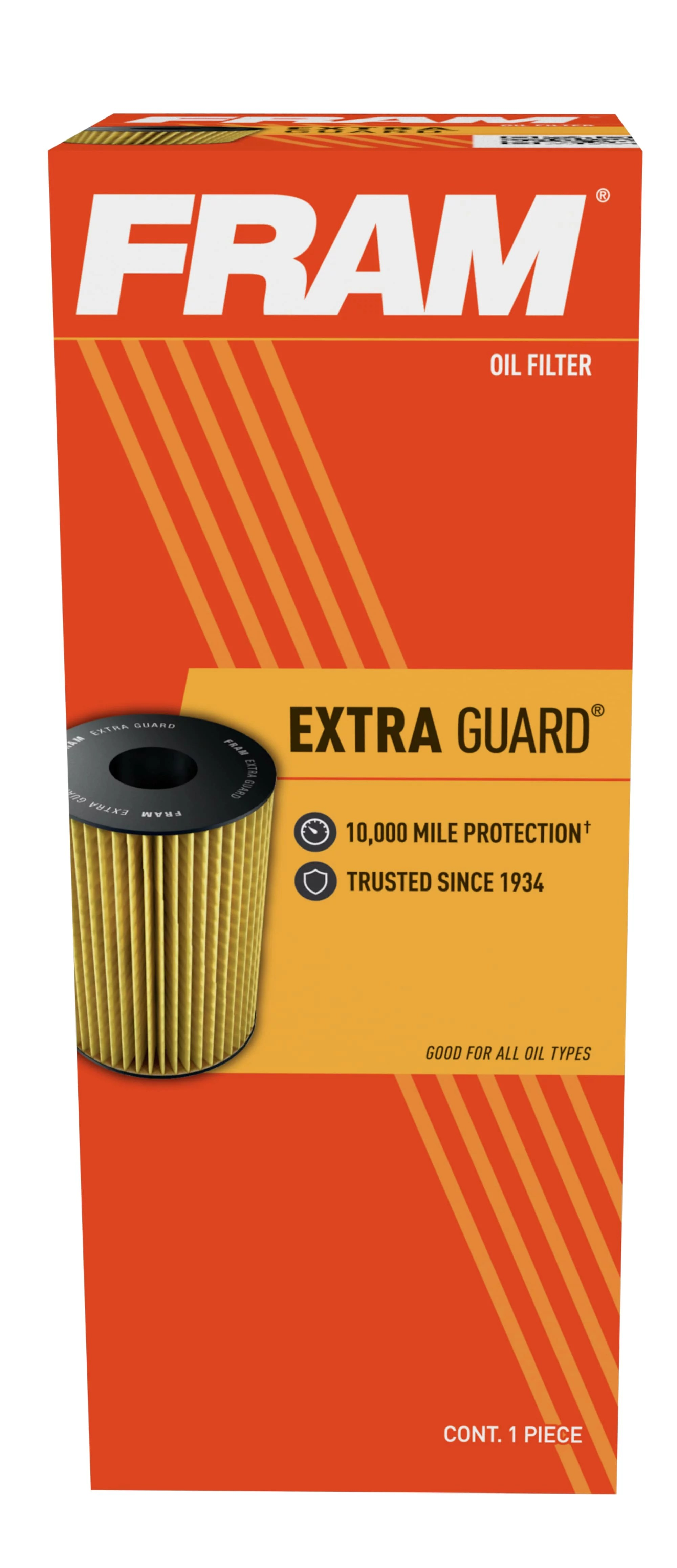 Oil Filter Lookup Walmart : filter, lookup, walmart, Extra, Guard, Filter, CH9018,, Change, Interval, Walmart.com