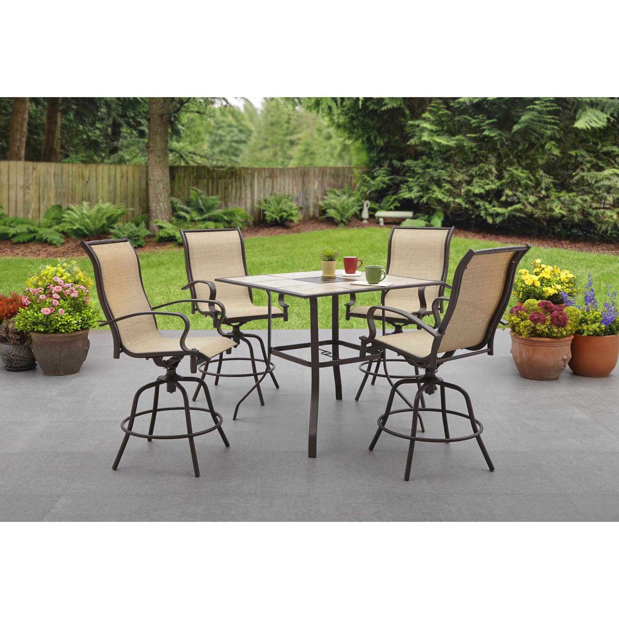 Restaurant Patio Chairs High Dining Patio Furniture Roselawnlutheran
