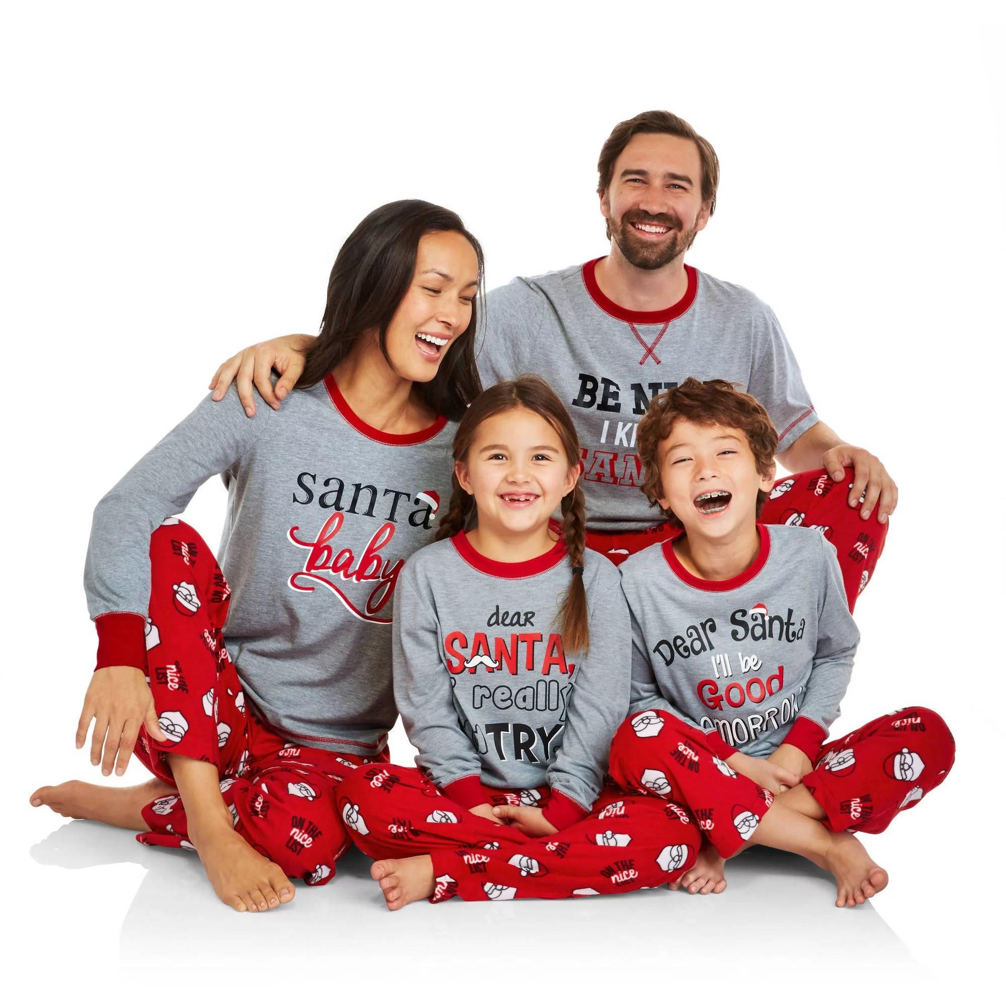 ONLINE Holiday Family Pajamas Santa39s List Sleep Pant