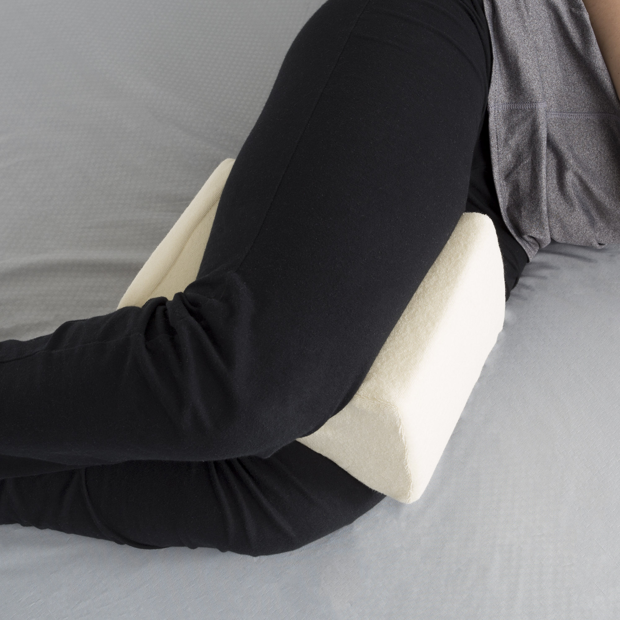 contoured orthopedic memory foam leg pillow by somerset home