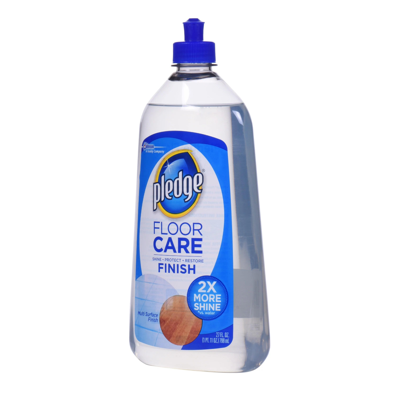Pledge Floor Care Finish  MultiSurface Finish Shine