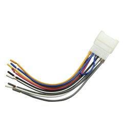 1 set car stereo dvd cd player radio wiring harness adapter cable for toyota [ 1100 x 1100 Pixel ]