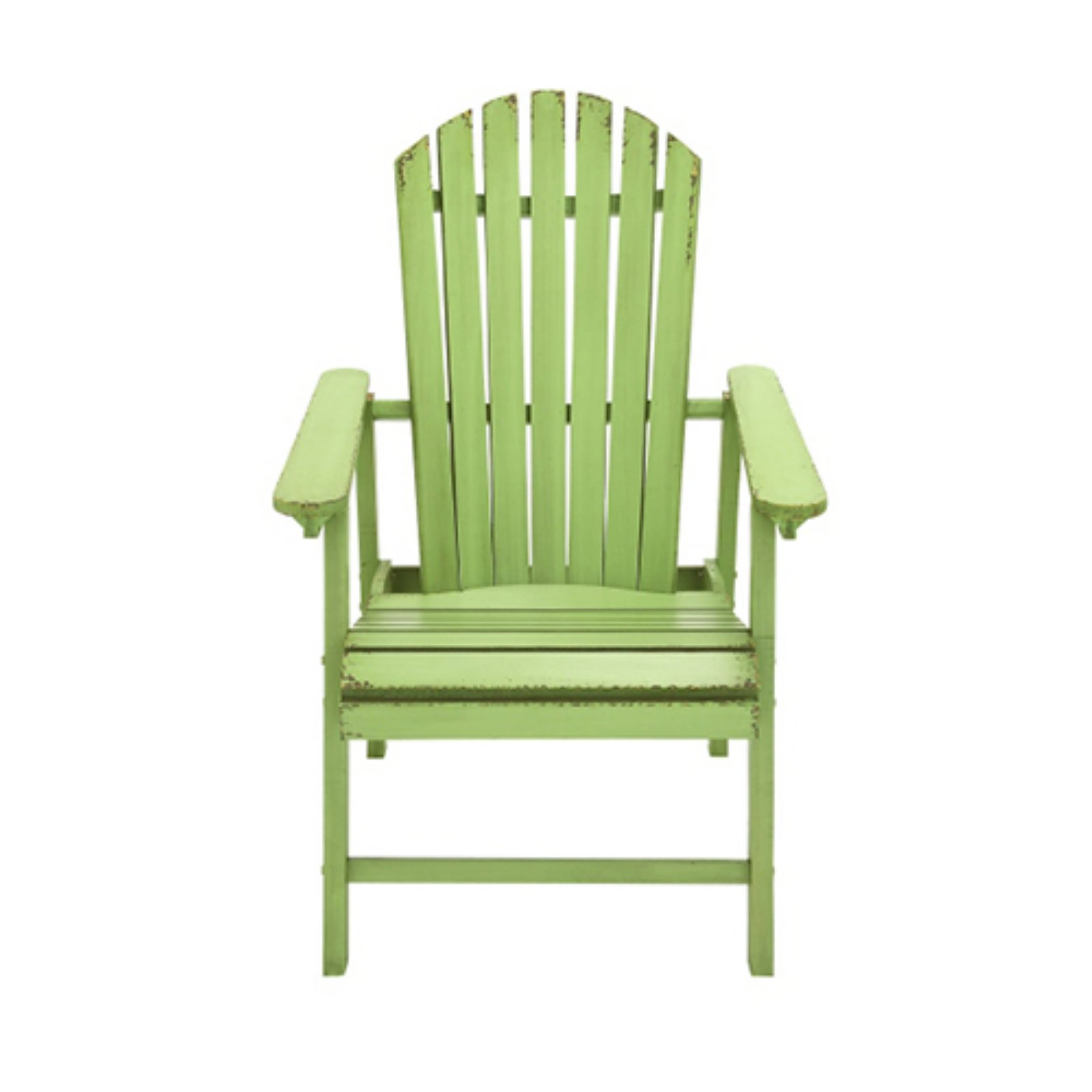 distressed adirondack chairs best lumbar support cushion for office chair decmode rustic country style patio walmart com
