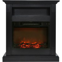 "Cambridge Sienna 34"" Electric Fireplace Mantel Heater with ..."