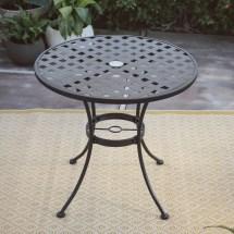 Belham Living Capri Wrought Iron Bistro Patio Dining Table