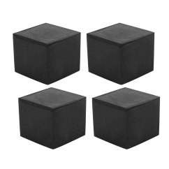 Chair Leg Floor Protector Ergonomic Ball 30mmx30mm Square Protectors Table Feet Tips Covers Caps 4pcs Walmart Com