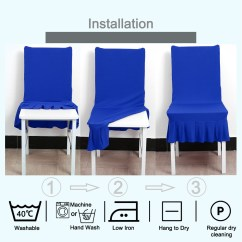 Dining Room Chair Covers Walmart.ca 2 Seat Kitchen Table And Chairs Stretchy Spandex Ruffled Skirt Short Washable Removable Seats Protector ...