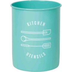 Kitchen Crocks Small Bookcase Now Designs Utensil Crock Turquoise Walmart Com