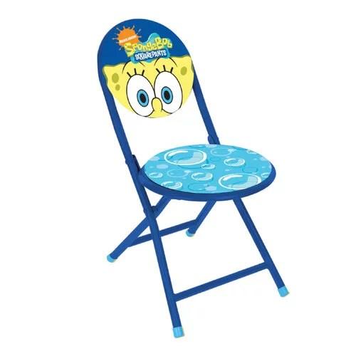 folding chair round fishing tesco nickelodeon spongebob squarepants walmart com