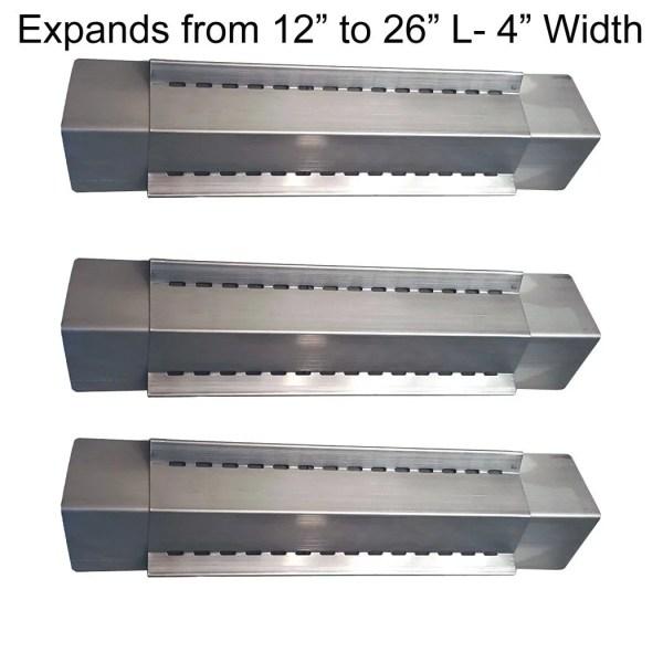Set Of 3 Heat Plates Uniflame Bbq Grill Models Gbc831w Gbc981w