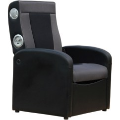 Chair Gym Dvd Set Cover Hire Ireland Teens Lounge Seating Walmart Com Product Image X Rocker 2 1 Flip Gaming With Storage Black Gray