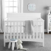 BreathableBaby Five-Piece Ultra Luxe Breathable Crib ...