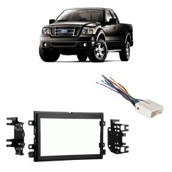 1993 Mazda B2200 Radio Wiring Diagram For Guitar Jack Car Stereo Installation Walmart Com Product Image Fits Ford F 150 2004 2006 Double Din Harness Install Dash Kit