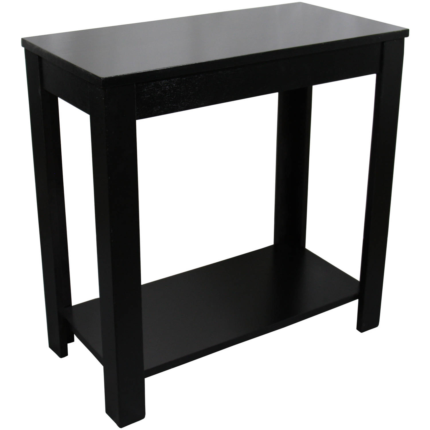 chair side tables with storage norstar office parts 24 black table walmart com