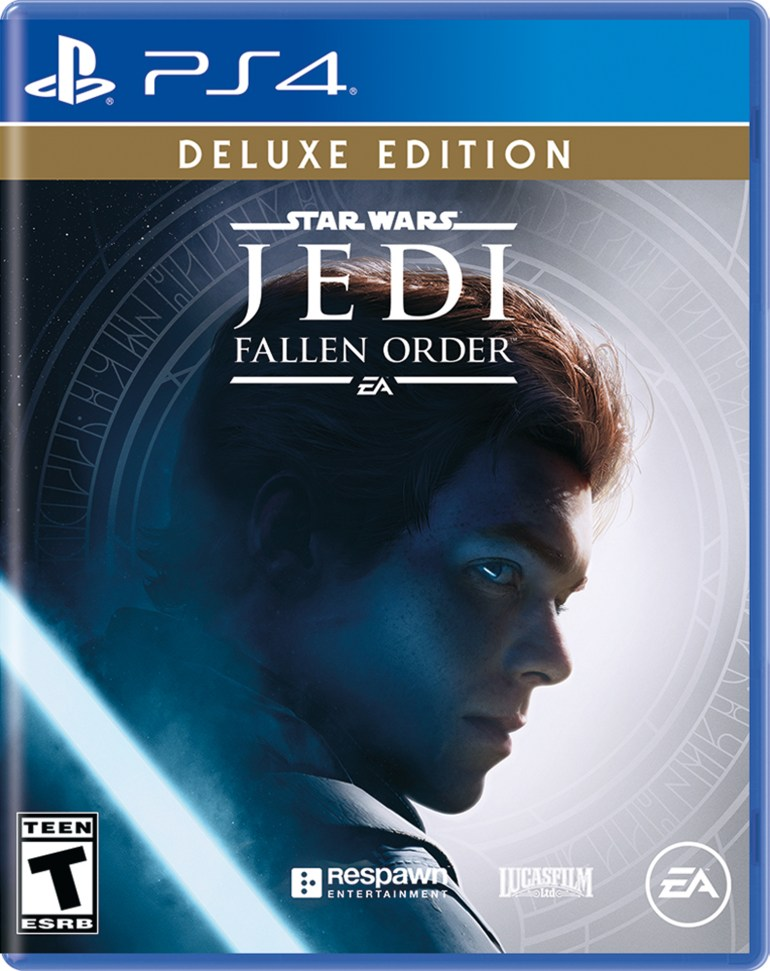 Star Wars Jedi: Fallen Order Deluxe Edition, Electronic Arts, PlayStation 4, 014633376159