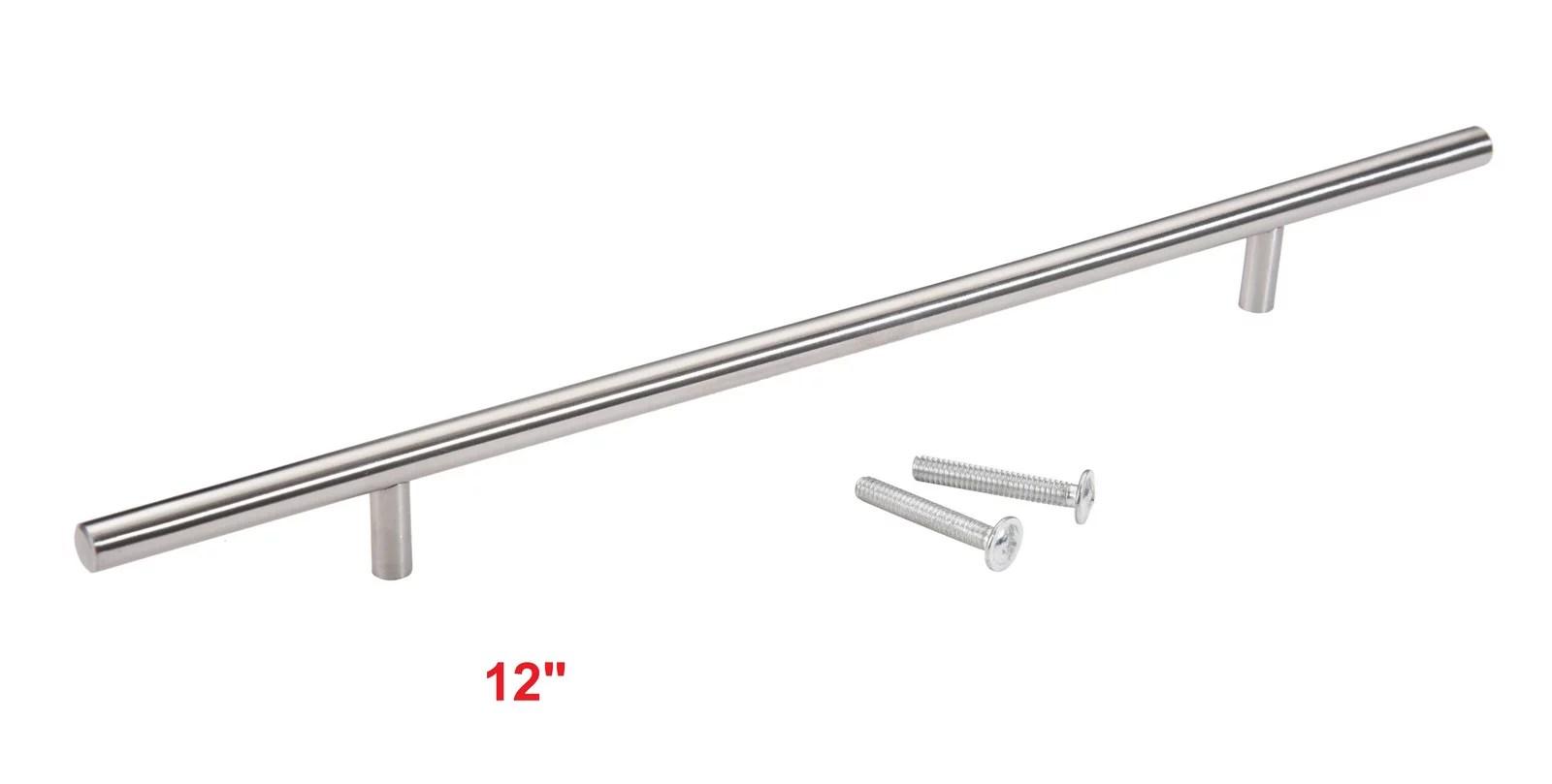Stainless Steel T Bar Kitchen Cabinet Door Hardware Pulls