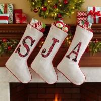 Personalized Plaid Christmas Stocking - Walmart.com