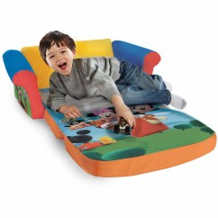 Sesame Street Flip Open Sofa With Slumber Bag How To Make A Bed More Comfortable Thomas The Train