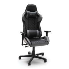 Reclining Gaming Chair Revolving Without Arm Respawn 100 Racing Style Ergonomic Leather Office Or Gray Rsp Walmart Com
