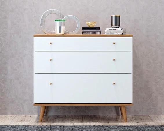 midtown concept oregon 3 drawer dresser