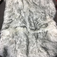 Faux Fur Chair Cover Red Chairs Canada Deluxe Soft Sheepskin Seat Pad Shaggy Area Rugs For Bedroom Sofa Floor 2ft X 3ft Wolf Ivory Grey Walmart Com