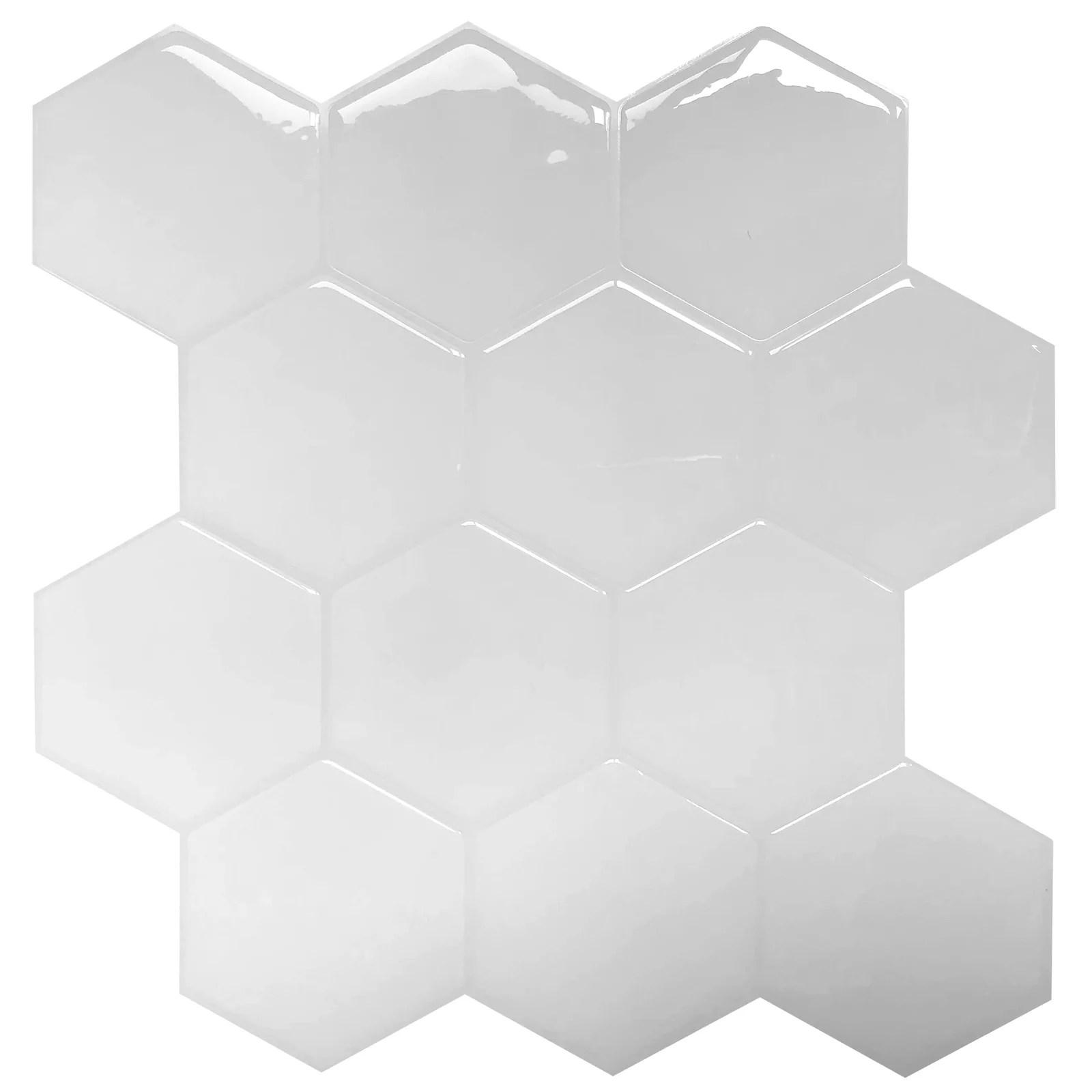 10 sheets peel and stick backsplash tiles self adhesive decorative tiles