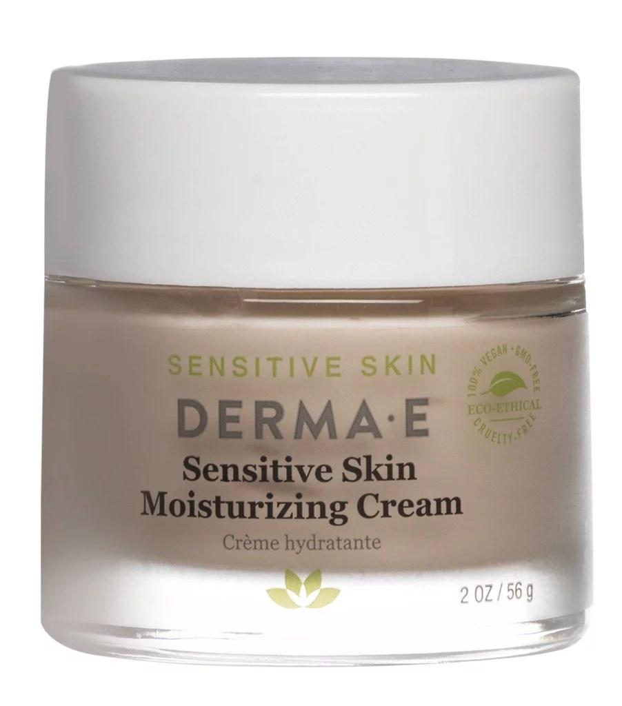 Derma E Sensitive Skin Moisturizing Cream, 2 Oz