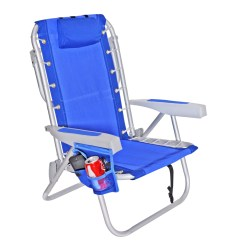 Lay Down Beach Chairs Chair Design Proportions Walmart Com Product Image Rio 5 Pos Layflat Ultimate Backpack W Cooler