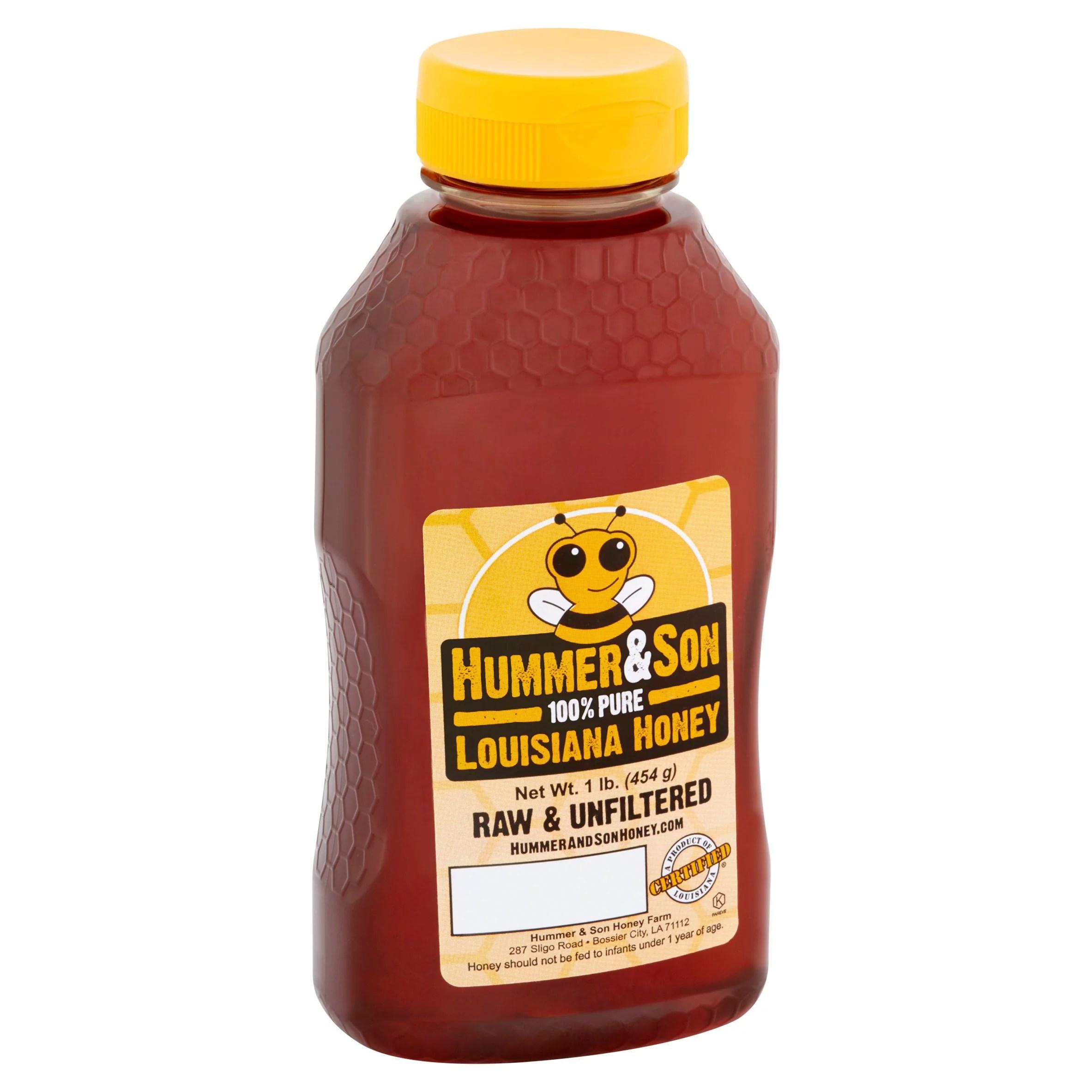 Hummer & Son Louisiana Honey 1 lb Walmart