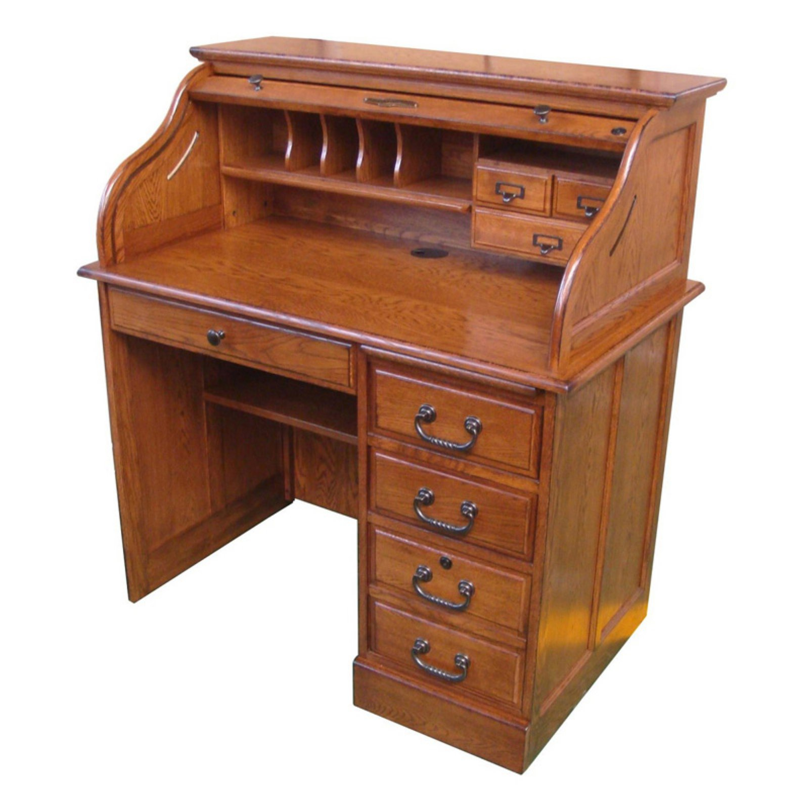 Chelsea Home Furniture Moon 42 in Student Roll Top Desk