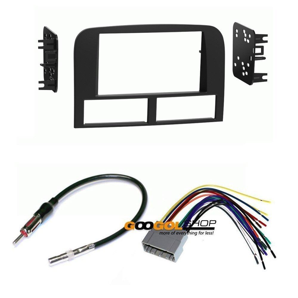 hight resolution of metra dash kit for jeep grand cherokee 1999 2004 w wiring harness radio antenna walmart com