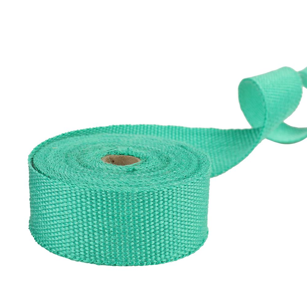fiberglass heat exhaust wrap roll motorcycle car heat insulated wrap turbo intake manifold heat wrap durable heat shield tape