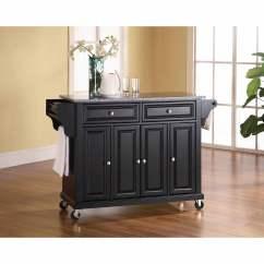 Crosley Kitchen Islands Cabinets Woburn Ma Furniture Solid Granite Top Cart - Walmart.com