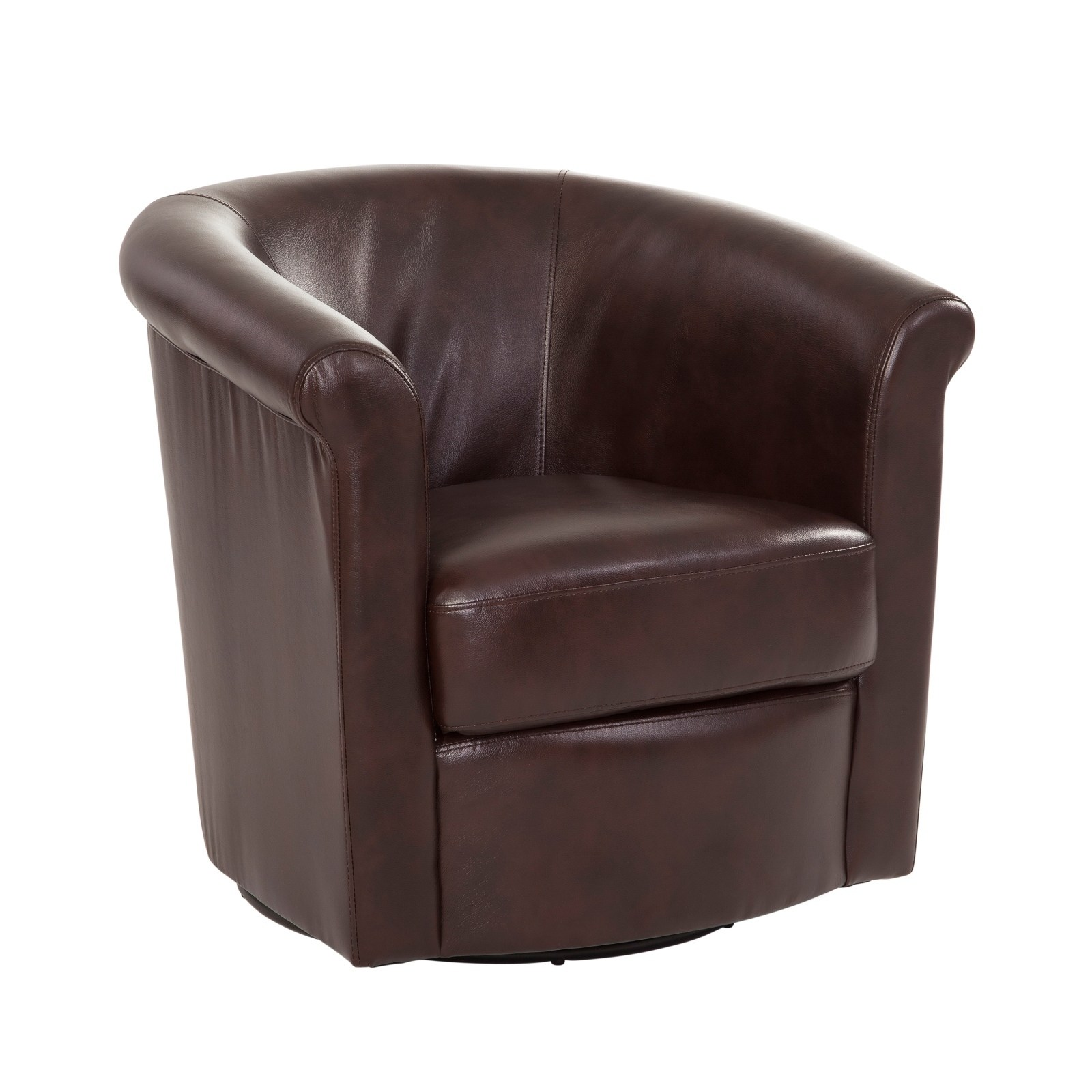 Swivel Tub Chair Addison Swivel Tub Chair Brown