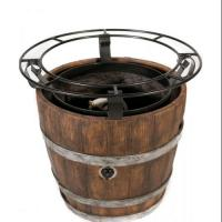 Wine Barrel Dining Table Top Transition - Walmart.com