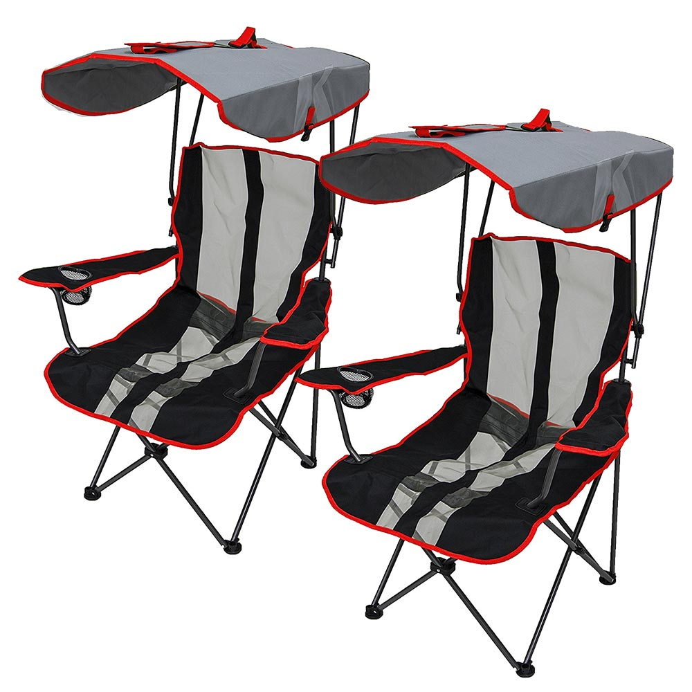 swimways premium canopy chair rocking holiday covers red 2 pack walmart com