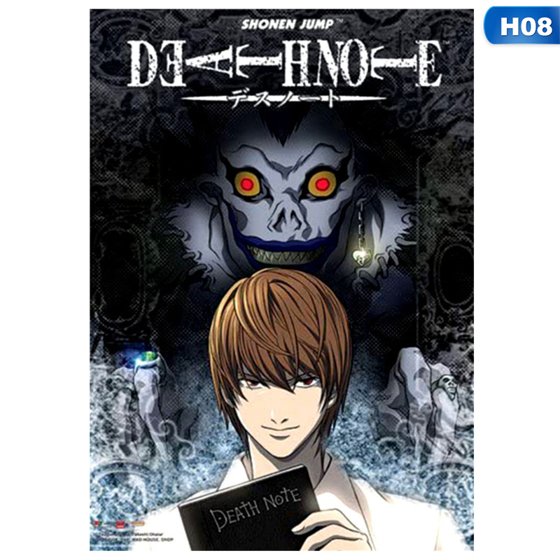 shiyao japan anime poster death note poster high definition yagami light hanging picture home decoration style 8