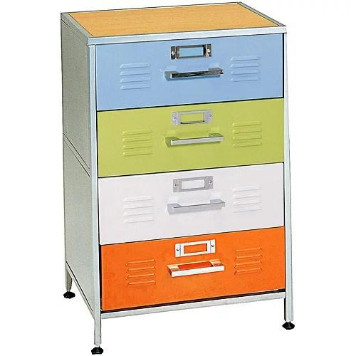 Locker 4 Drawer Dresser Box 1 of 2  Walmartcom